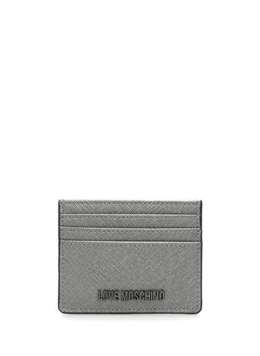 Love Moschino Kartlık Gümüş